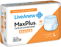 LiveAnew MaxPlus Pull-On Underwear Adult Diapers