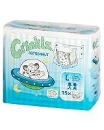 Crinklz Brief  (Astronaut) - Plastic Backed