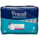 Prevail Breezers Adult Diaper Brief for Incontinence