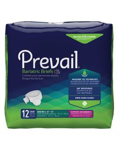 Prevail Bariatric Briefs 3XL - XXX-Large