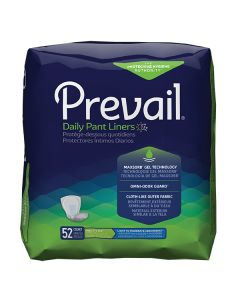 Prevail Daily Pant Liners SM Adult Incontinence Bladder Control Pad - 13.5 Inch