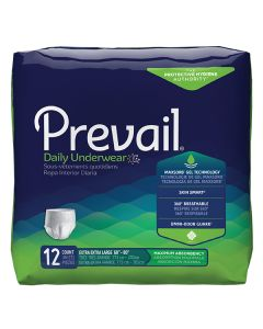 Prevail Super Plus/Maximum Daily Adult Incontinence Pullup Diaper