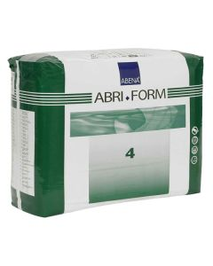 Abena Abri-Form 4 Original Style Briefs (Poly Plastic Backed)