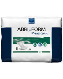 Abena Abri-Form 3 Premium Extra Adult Diaper Brief for Incontinence