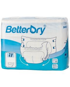 BetterDry Adult Diaper Brief for Incontinence