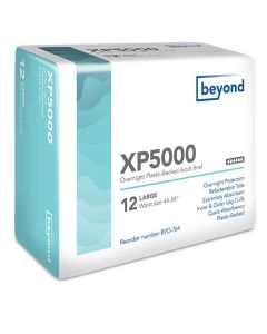 Beyond XP5000 Overnight Adult Diaper Brief for Incontinence