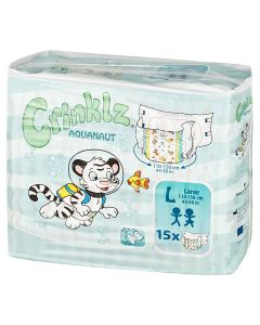 Crinklz Brief  (Aquanaut) - Plastic Backed