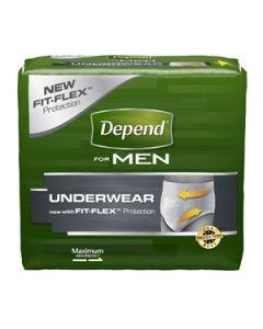 Depend Underwear for Men, Maximum