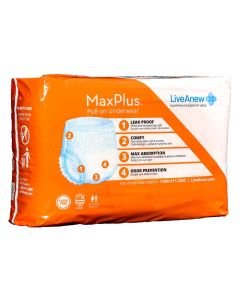 LiveAnew MaxPlus Adult Incontinence Pullup Diaper