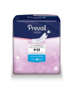 Prevail Moderate Bladder Control Pads - 9.25 Inch Pad