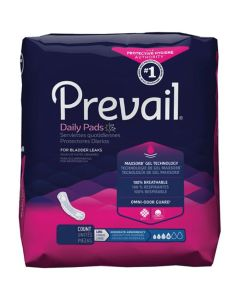 Prevail Moderate Long Adult Incontinence Bladder Control Pad - 11 Inch
