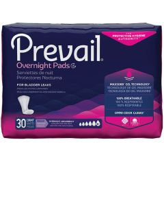 Prevail Overnight Adult Incontinence Bladder Control Pad - 16 Inch
