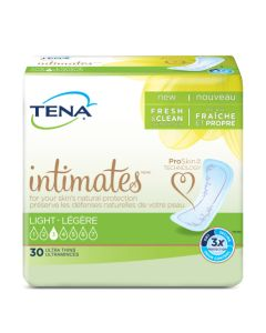 TENA Intimates Ultra Thin Light Regular - 9 Inch Pad