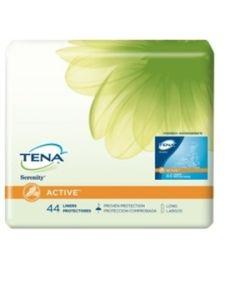 TENA Serenity Active Liners Long - 9 Inch Pad