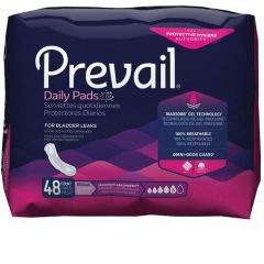 Prevail Maximum Adult Incontinence Bladder Control Pad - 11 Inch